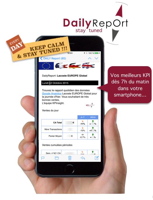 Visuel prestation Daily report KPInsight